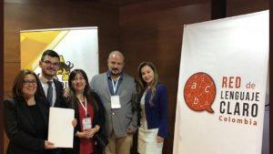 En Instituto Lectura Fácil participa en la puesta en marcha de la red de Lenguaje Claro de Colombia