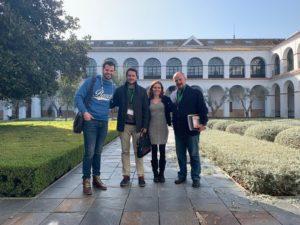 Reunión Instituto Lectura Fácil con Adelante Andalucía
