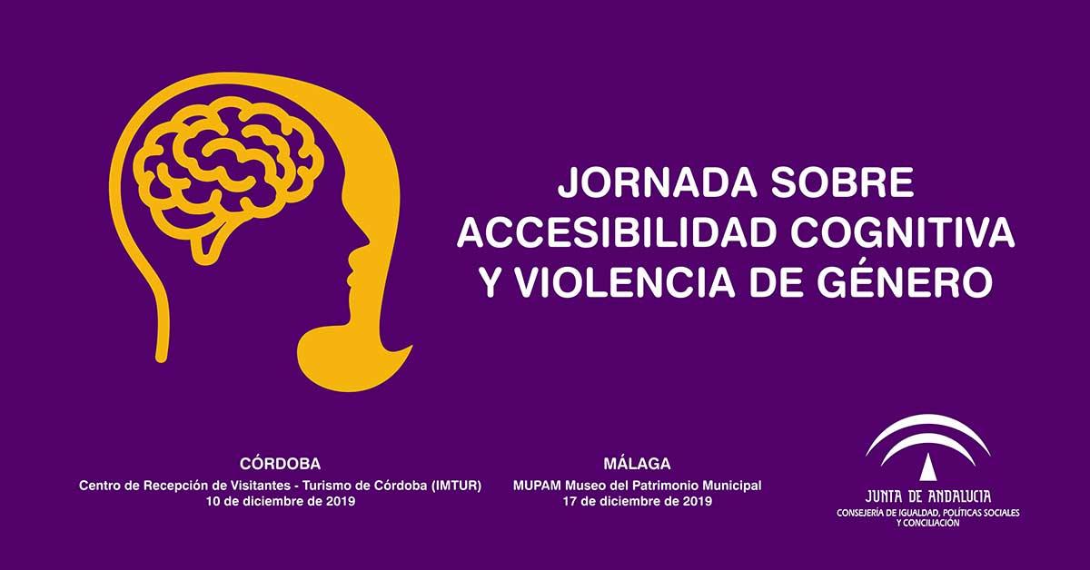 Jornadas sobre accesibilidad cognitiva y violencia de género