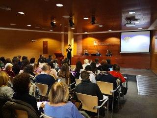 Lleno en la jornada de accesibilidad cognitiva y violencia de género en Málaga
