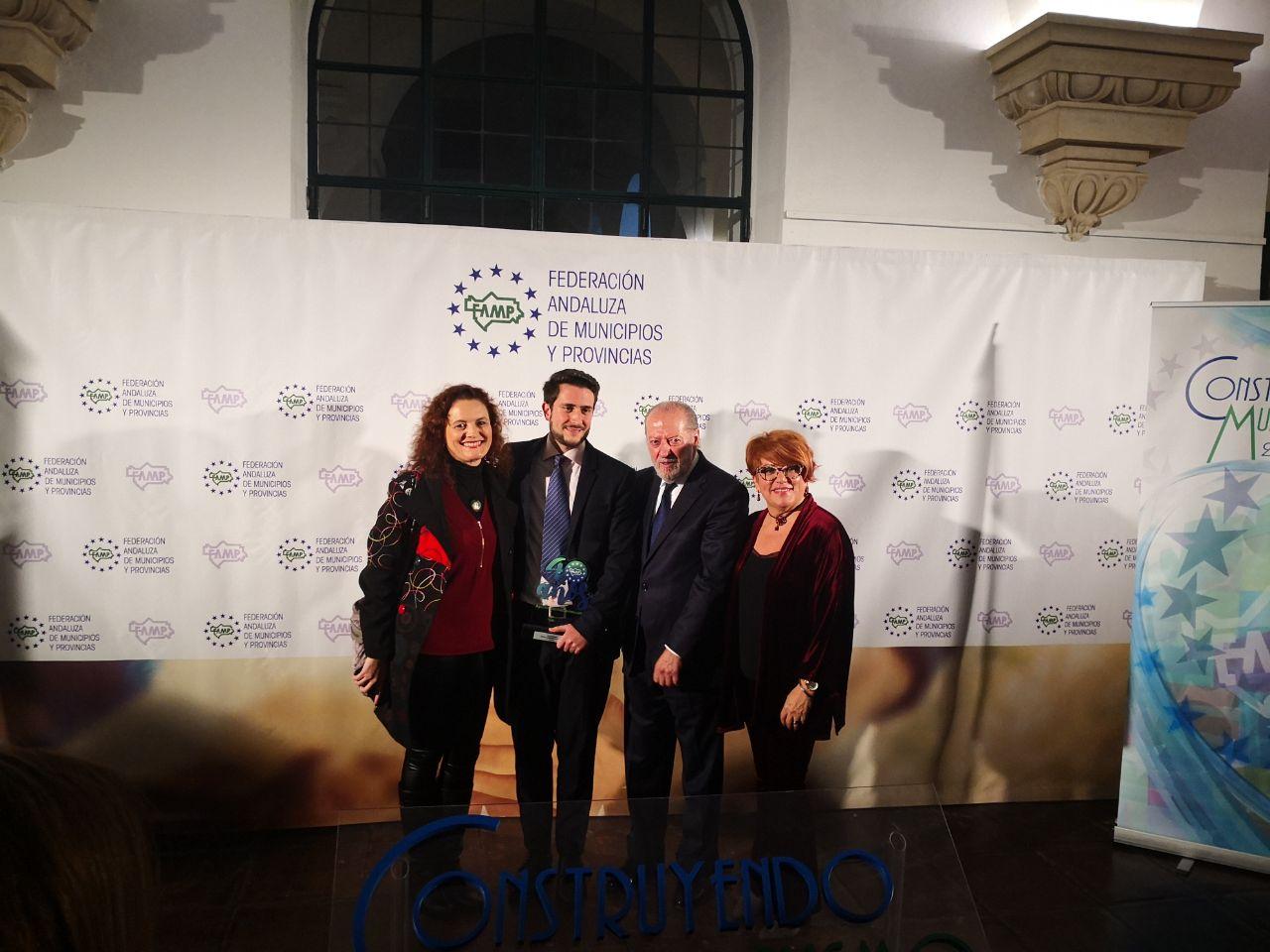 La FAMP reconoce el trabajo del ILF con motivo de los 40 años de Ayuntamientos democráticos en Andalucía.