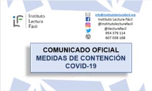 El Instituto Lectura Fácil se suma al teletrabajo para frenar al COVID-19