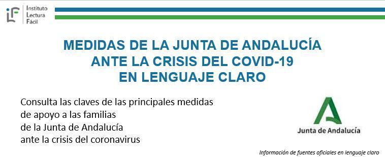 Las medidas de la Junta de Andalucía contra el COVID19 en lenguaje claro