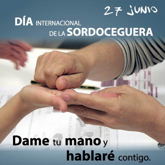 27J Día Internacional de las Personas Sordociegas